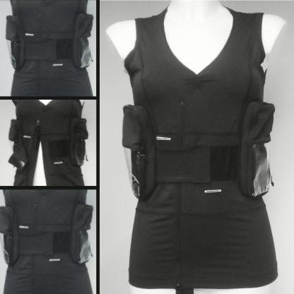 Dutch Design Duodopa Vest for woman by TeCuro