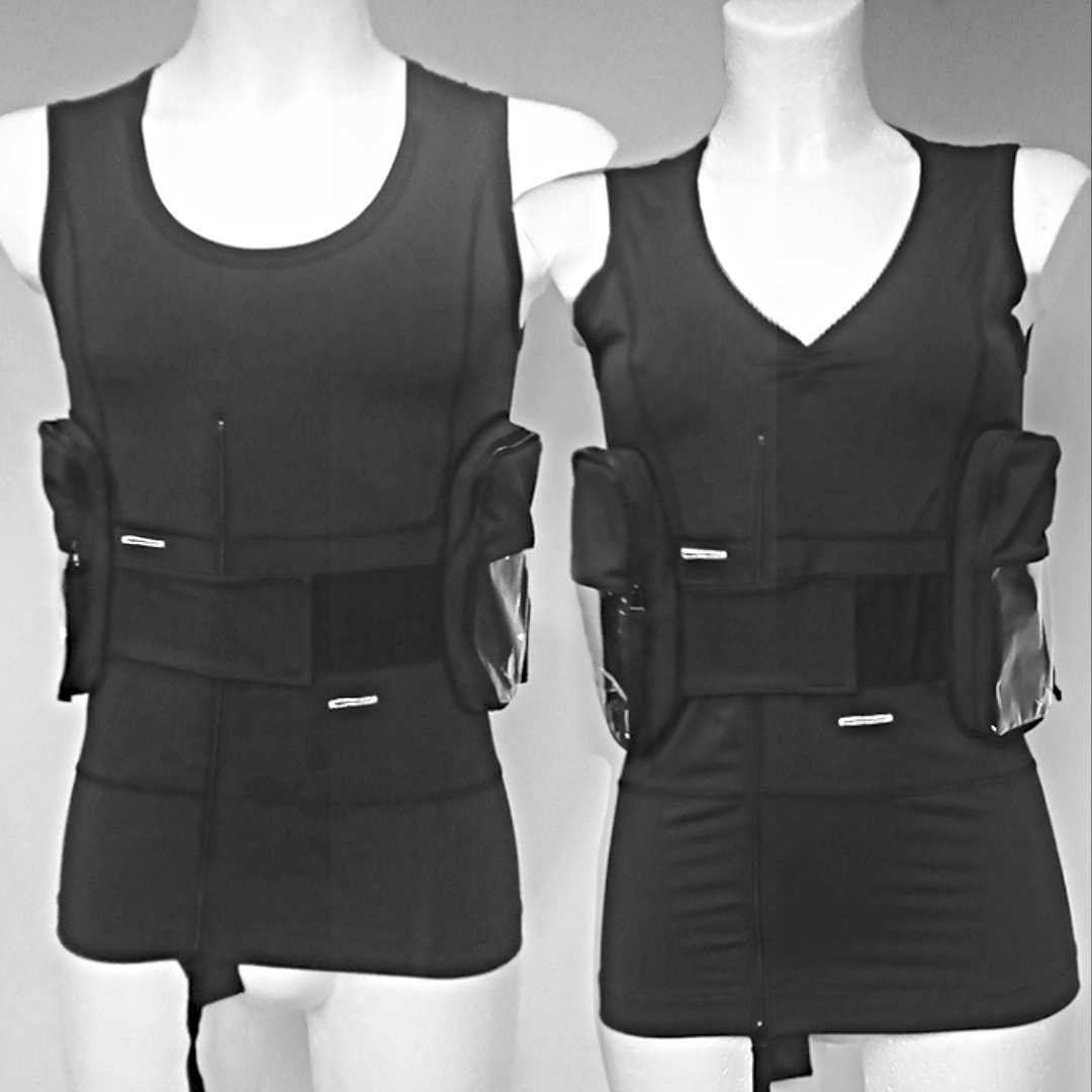 Medications Vests for him and her by TeCuro